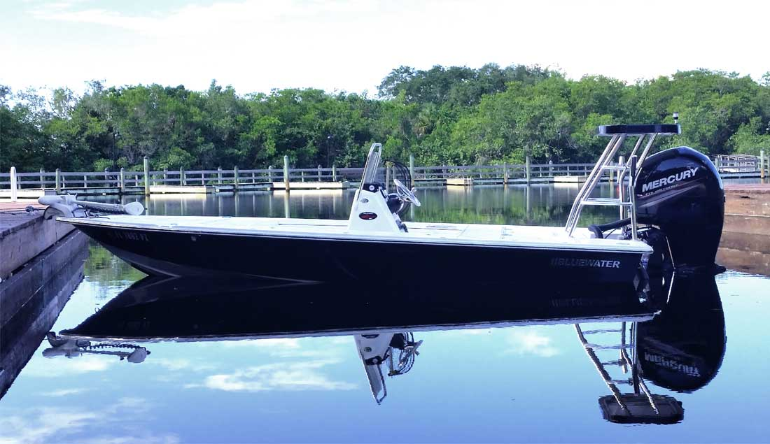 Bluewater 180 At The Dock