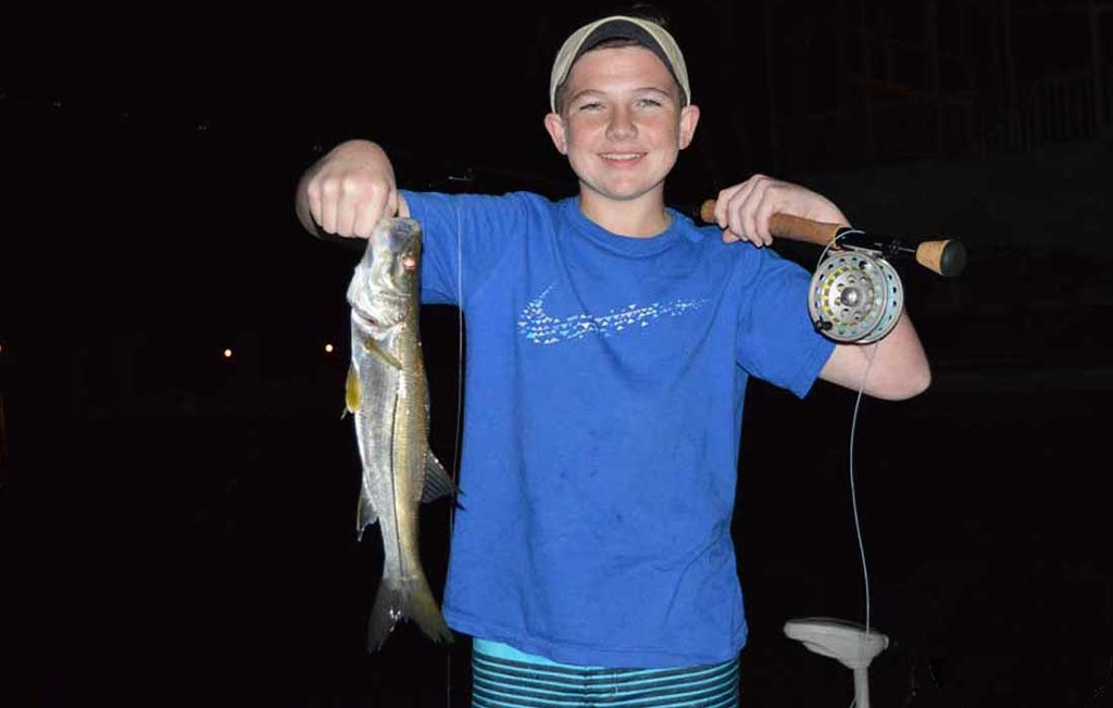 Bonita Springs Night Fishing For Snook