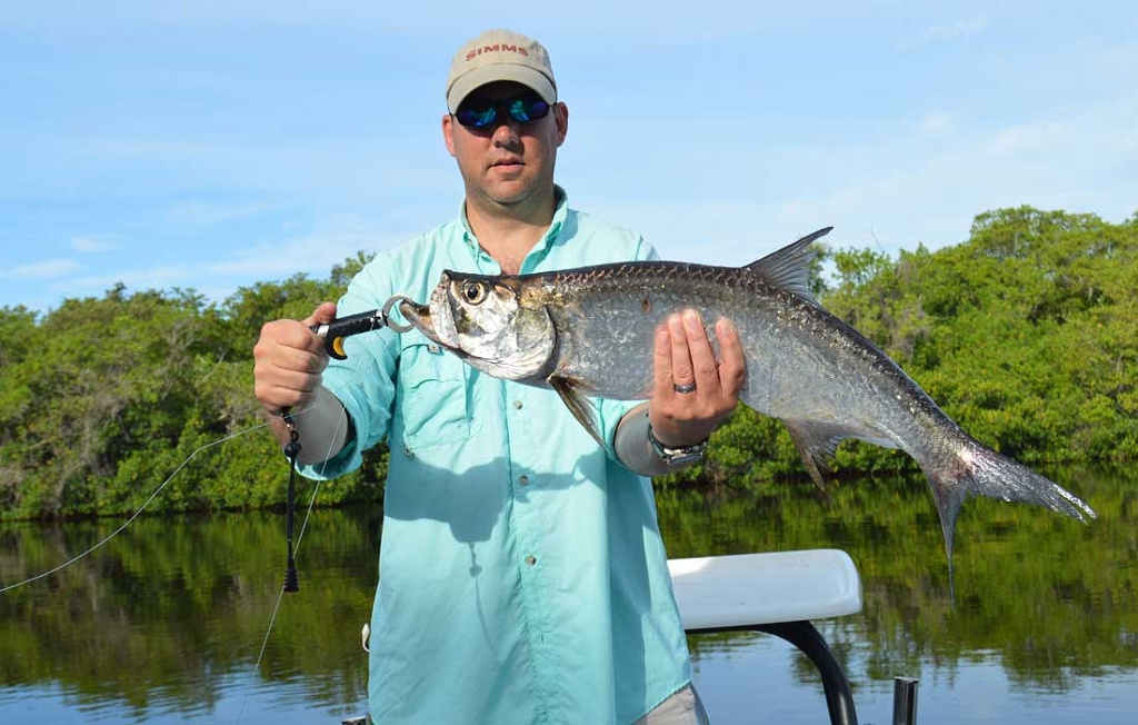 Bonita Springs Tarpon On Fly Rod