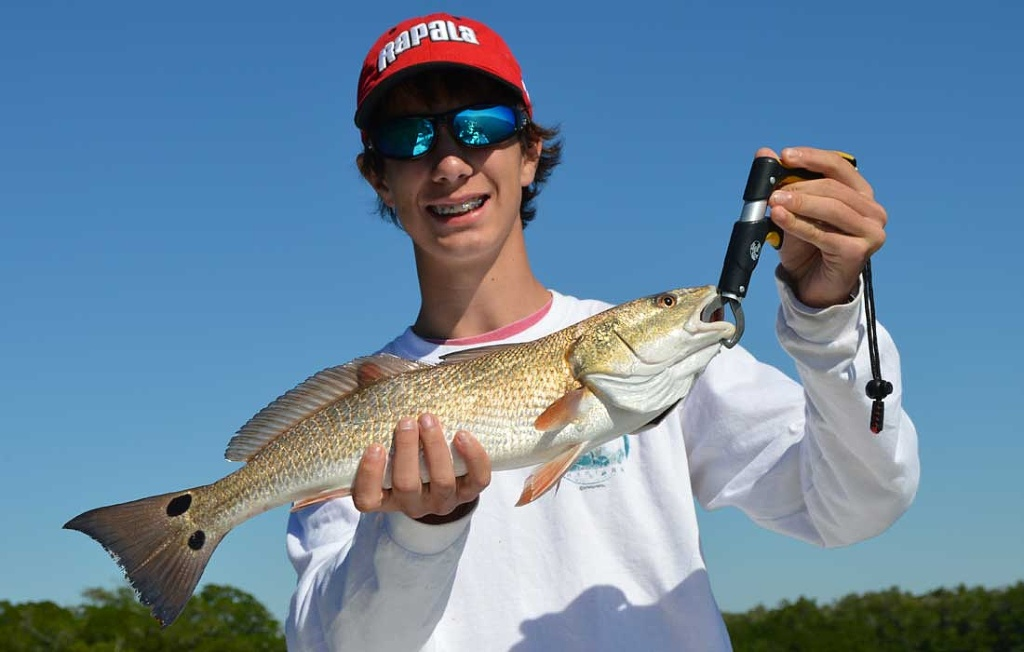 First Ever Redfish