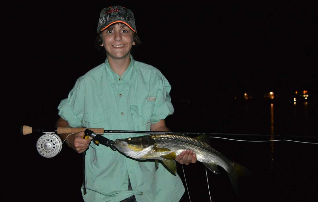 Fly Rod Snook In Bonita Springs