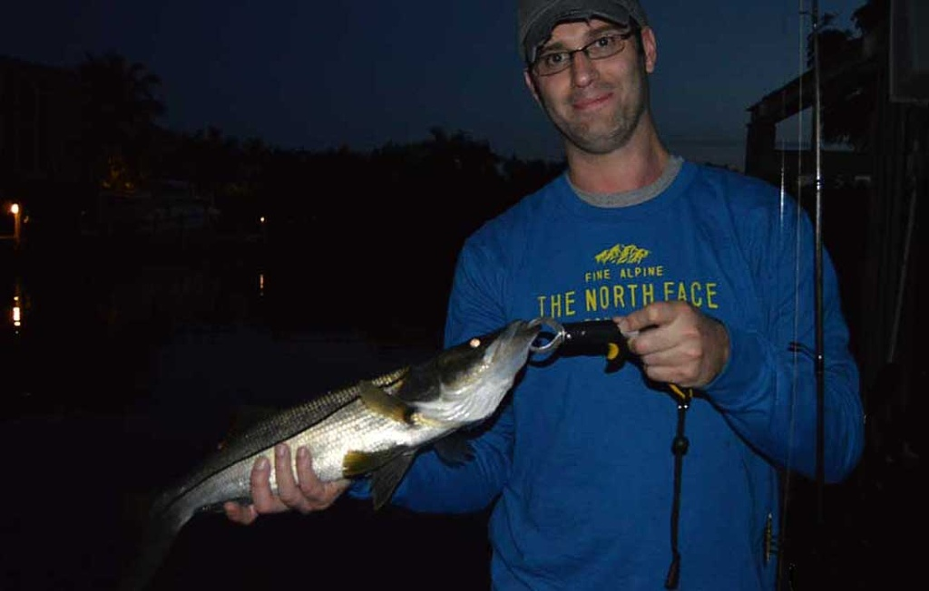 Geat Fishing For Snook