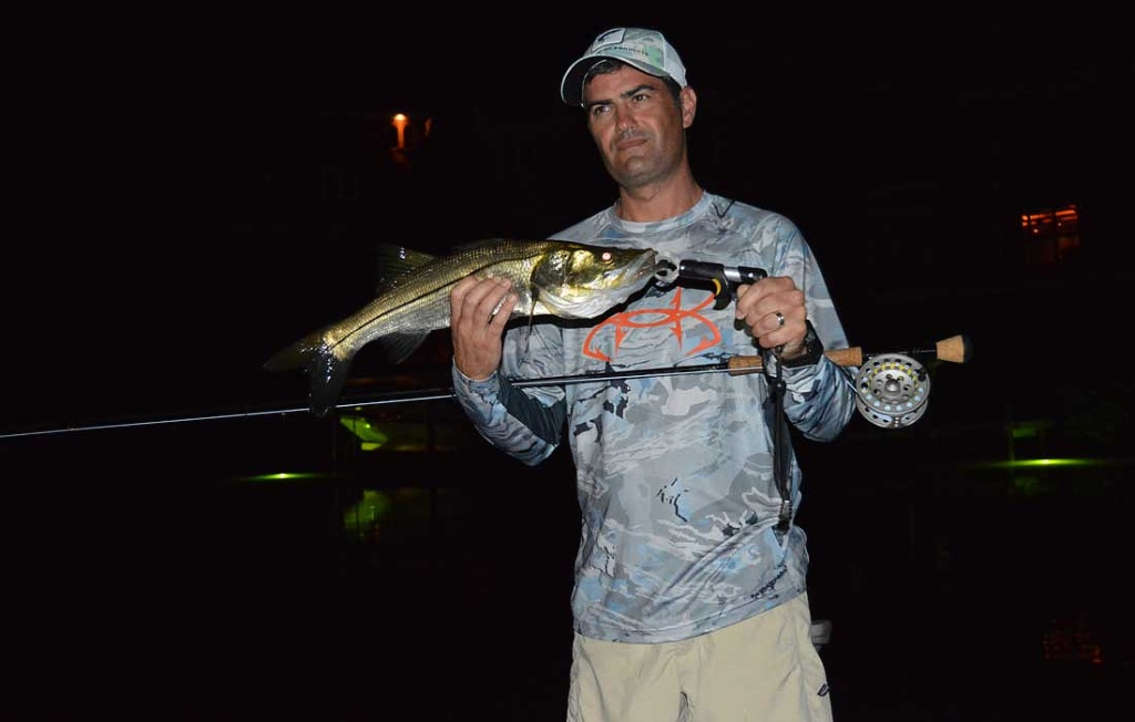 Good Night Fishing For Snook