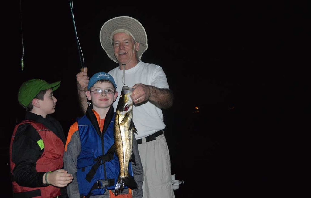 Great Night Fishing For Snook